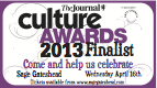 Culture Awards Finalist 2013